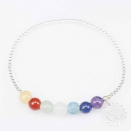Bracelet ball 6mm. plain...