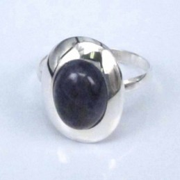 Ring Oval Ametisth 8x10mm.