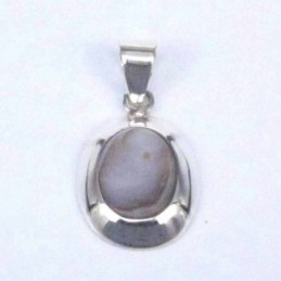 Pend. Oval Stone 8x10mm....
