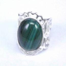 Ring Spirals Stone 12x16mm....