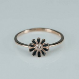 Ring  flower  8mm.  rose...