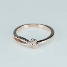 Ring  flower  6mm.  rose...