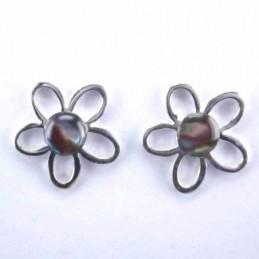 Ea flower stone 6mm. Abalon