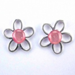 Ea flower stone 6mm. Rose...