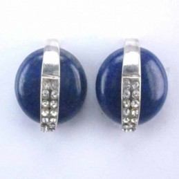 Earring Oval 17x18mm....
