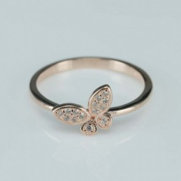 Ring  dragonfly  8mm. rose...