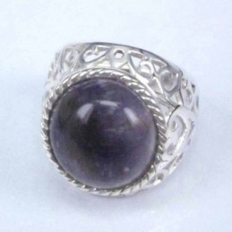 Ring cat.heart Stone 12mm....
