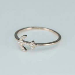 Ring  anchor  8mm.  rose...