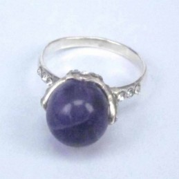 Ring Ball 10mm.+Crystal...