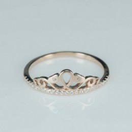 Ring  crown  7mm.  rose...