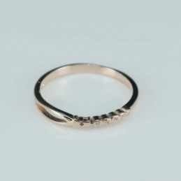 Ring   round  3mm.  rose...