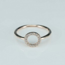 Ring   round  8mm.  rose...