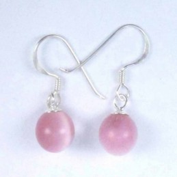 Earring Ball 8mm. Hook Cat...