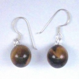Earring Ball 10mm. Hook...
