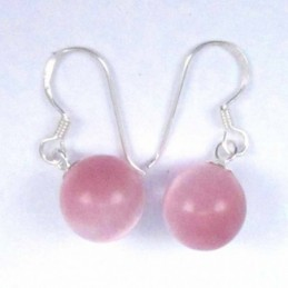 Earring Moon Coral
