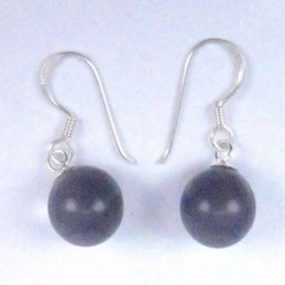 Earring Ball 10mm. Hook Cat...