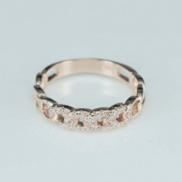 Ring   round  5mm.  rose...