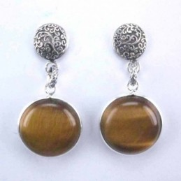 Earring Round +round 16mm....
