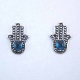 Earrings Hand With Stone