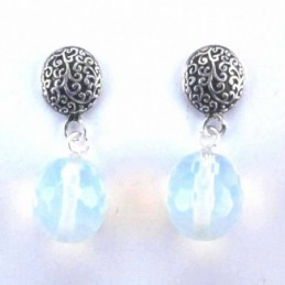 Earring with ball 10mm....