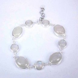 Bracelet Mix Forms Moon Stone