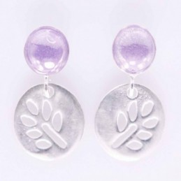 Earrings Chakras with Stone