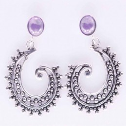 Earring Spiral with...