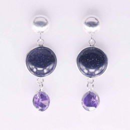 Earring Round 8mm,+13mm....