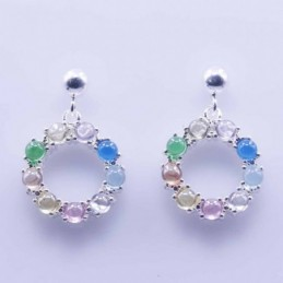 Earring Round ball 4mm....