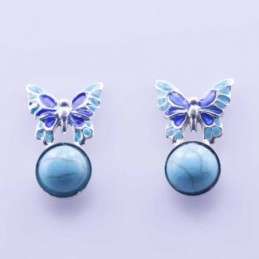 Earring Butterfly with...