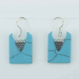 Earring Square 15x20mm....