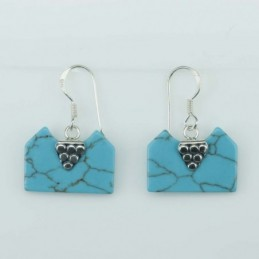 Earring Square 13x18mm....