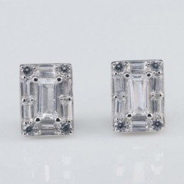 Earring Rectangle 6x9mm....