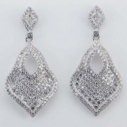Earring Rhombus 16x35mm....