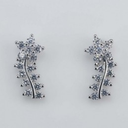 Earring flower 5x13mm....
