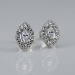 Earring Rhombus 6x9mm....