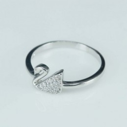 Ring duck 7mm.Circonia