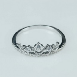 Ring crown  7mm.  Circonia