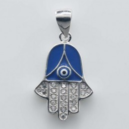 Pendant  Hand Eye14x22mm....