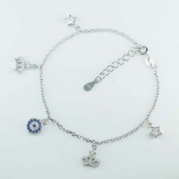 Bracelet Crown+star+mix...