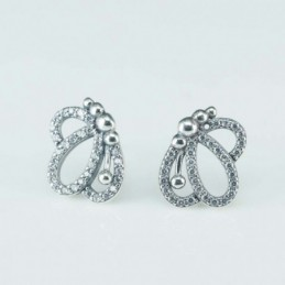 Earring Butterfly 10x12mm....