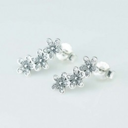 Earring Flower 3pc 6x16mm....