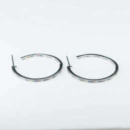 Earring Suaros. A Drop Grey...