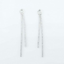 Earring Round  2+6mm.2,pc...