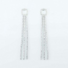Earring  Squar 2+7mm....