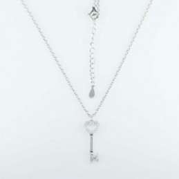Necklace Key 8x23mm. 45cms....
