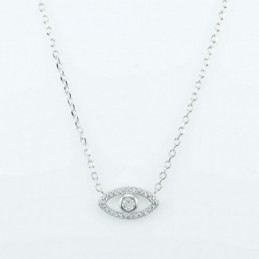 Necklace Small Eye 7x13mm....