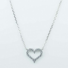 Necklace Heart 14x15mm....