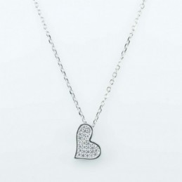 Necklace Heart 10x13mm....