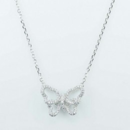 Necklace Butterfly 15x21mm....